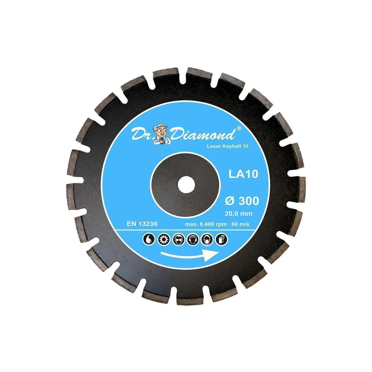 10 mm 600 x 25,4 mm Beton Diamanttrennscheibe Laser