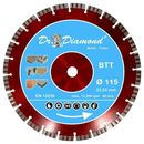 Diamond cutting disc red racer turbo concrete
