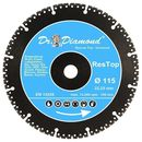 Diamond cutting disc universal rescue top