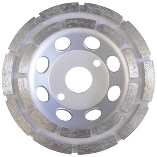 diamond cup wheel concrete double row