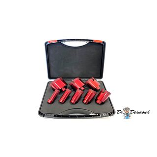 Dr. Diamond premium tile drll bit kit 8-parts